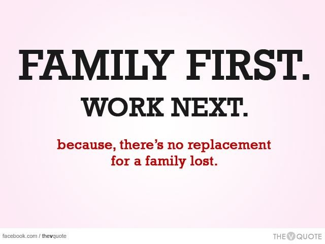 family first work next
